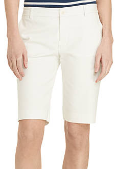 Lauren Ralph Lauren Petite Stretch-Cotton Shorts