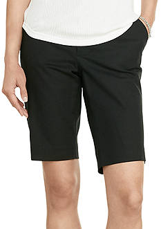 Lauren Ralph Lauren Petite Stretch Cotton Shorts