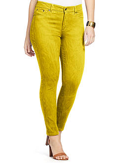 Lauren Ralph Lauren Petite Premium Cropped Skinny Jeans
