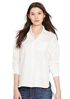 Lauren Ralph Lauren Petite Linen Shirt