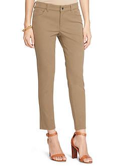 Lauren Ralph Lauren Petite Size Stretch Twill Skinny Pant