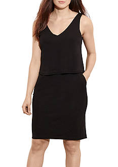 Lauren by Ralph Lauren Petite Size Dondi Casual Dress