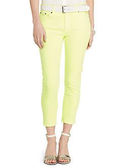 Lauren Ralph Lauren Petite Premier Cropped Skinny Jean