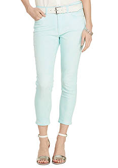 Lauren Ralph Lauren Petite Premier Cropped Skinny Jeans