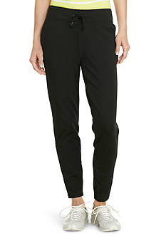 Lauren Ralph Lauren Petite Straight-Fit Drawstring Pants