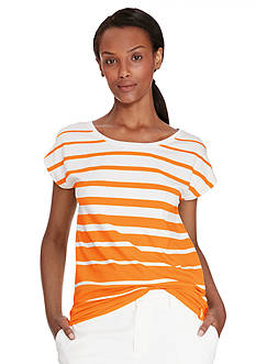 Lauren Ralph Lauren Petite Striped Jersey Top