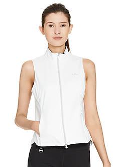 Lauren Ralph Lauren Petite Full-Zip Mock Neckline Vest
