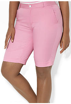 Lauren Ralph Lauren Plus Size Slim-Fit Bermuda Short