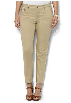 Lauren Ralph Lauren Plus Size Slim-Fit Ankle Pant
