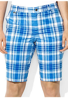 Lauren Ralph Lauren Plus Size Plaid Bermuda Short