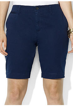 Lauren Ralph Lauren Plus Size Cotton Chino Short