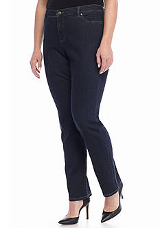 Lauren Ralph Lauren Plus Size Slim Heritage Stretch Jean