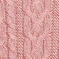 Plus Size Designer Clothes: Sweaters: Spanish Rose Marl Lauren Ralph Lauren 10-SINFORSA-LONG SLEEVE-SWEATER