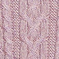 Plus Size Designer Clothes: Sweaters: Purple Smoke Marl Lauren Ralph Lauren 10-SINFORSA-LONG SLEEVE-SWEATER