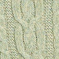 Plus Size Designer Clothes: Sweaters: Smoke Green Marl Lauren Ralph Lauren 10-SINFORSA-LONG SLEEVE-SWEATER