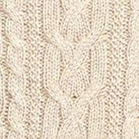 Plus Size Designer Clothes: Sweaters: Straw Trail Marl Lauren Ralph Lauren 10-SINFORSA-LONG SLEEVE-SWEATER