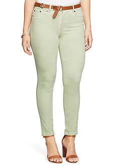 Lauren Ralph Lauren Plus Size Premier Skinny Jean
