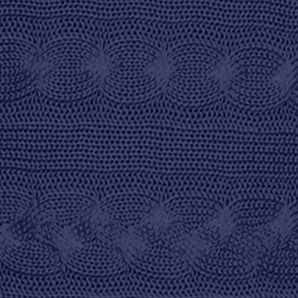 Plus Size Designer Clothes: Sweaters: Authentic Navy Lauren Ralph Lauren Plus Size Cable-Knit Dolman Sweater