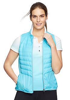 Lauren Ralph Lauren Plus Size Quilted Baseball Vest