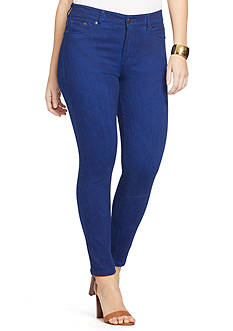 Lauren Ralph Lauren Plus Size Skinny-Fit Stretch Jeans