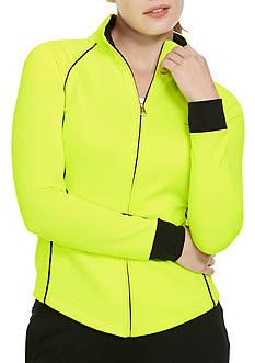 Lauren Ralph Lauren Plus Size Mockneck Active Jacket