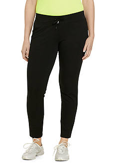 Lauren Ralph Lauren Plus Size Straight-Fit Drawstring Pant
