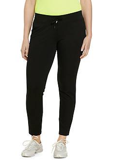 Lauren Ralph Lauren Plus Size Straight-Fit Drawstring Pant