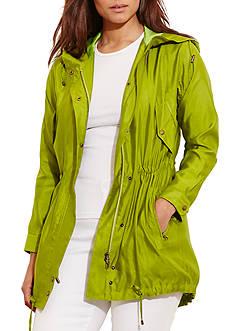 Lauren Ralph Lauren Plus Size Silk Utility Jacket
