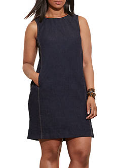 Lauren Ralph Lauren Plus Size Dianva Sleeveless Casual Dress