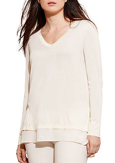 Lauren Ralph Lauren Plus Size Dulfuria Long Sleeve Sweater