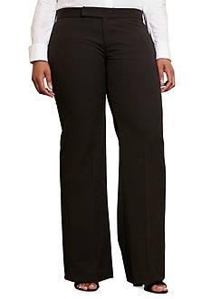 Lauren Ralph Lauren Plus Size Adhim Flare Pant