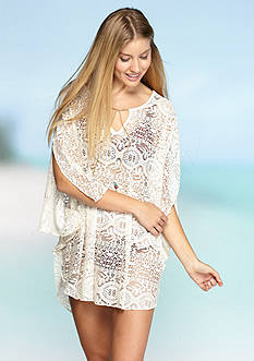 Lucky Brand Fly Away Poncho Cover Up