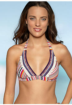 Lucky Brand Magic Halter Swim Top