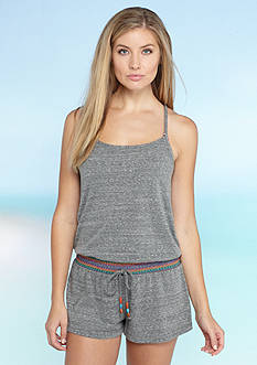 Lucky Brand Love Fiesta Romper Cover Up