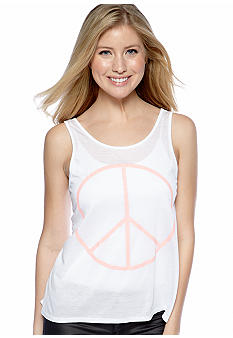 h.i.p. High Low Back Slouchy Tank