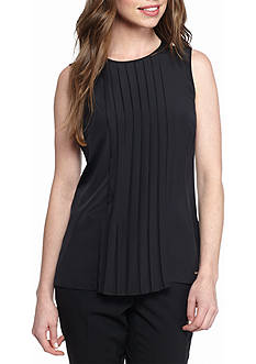 MICHAEL Michael Kors Pleat Top