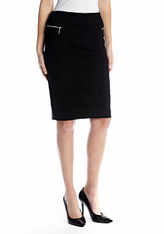 MICHAEL Michael Kors Structured Knit Skirt