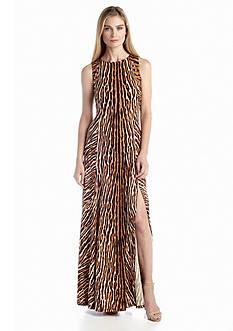 MICHAEL Michael Kors Mix Printed Studded Maxi Dress