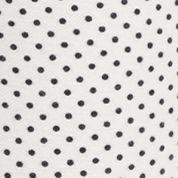 Womens Tights: Cream/Black MICHAEL Michael Kors Bungalow Dot Print Leggings