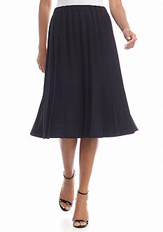 MICHAEL Michael Kors Pleated Midi Skirt