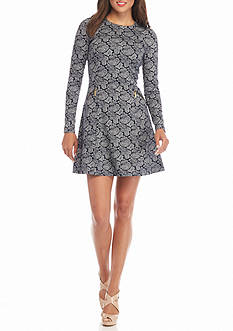 MICHAEL Michael Kors Woodbrook Paisley Print Dress