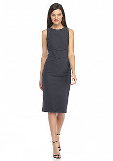 MICHAEL Michael Kors Pinstripe Bodycon Dress