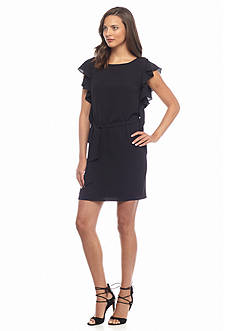 MICHAEL Michael Kors Flutter Sleeve Dress