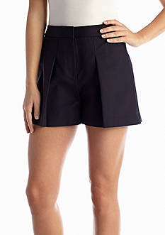 MICHAEL Michael Kors Pleated High Waisted Short