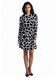 MICHAEL Michael Kors Antala Long Sleeve Sweater Dress