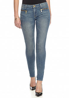 MICHAEL Michael Kors Zip Pocket Denim Skinny Jeans