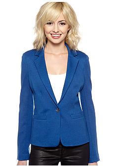 MICHAEL Michael Kors Single Button Ponte Blazer
