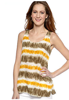 MICHAEL Michael Kors Tribal Stripe Tank