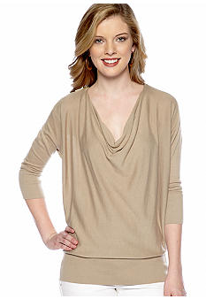 MICHAEL Michael Kors Zip Shoulder Sweater