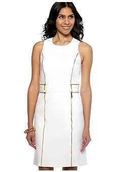 MICHAEL Michael Kors Zipper Sheath Dress